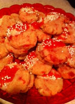 cherry-shortbread-cookies